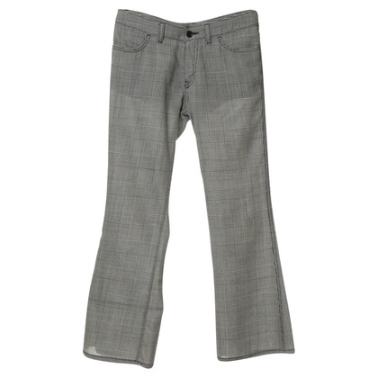 Comme des Garçons Trousers in Prince of Wales check-look
