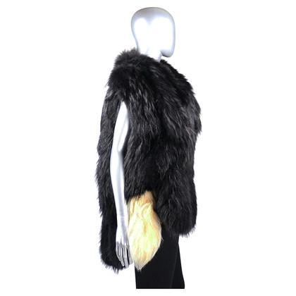 Maison Martin Margiela Two-tone fur vest
