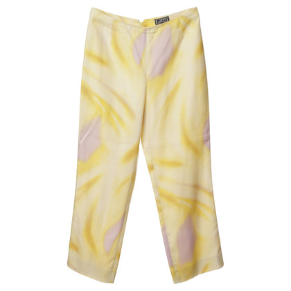 Versace Pants in yellow and purple