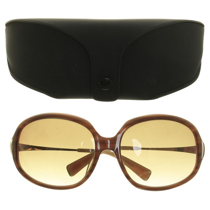Oliver Peoples Sonnenbrille in Braun