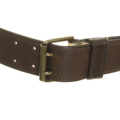 Dries van Noten riem Brown