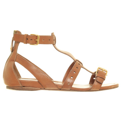 Car Shoe Sandalen in Brown