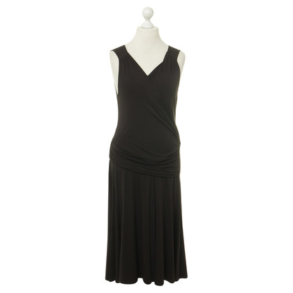Céline Dress in dark brown