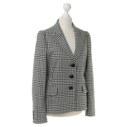 Moschino Blazer with check pattern
