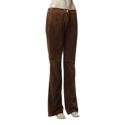 Other Designer Guy Rover - brown suede pants