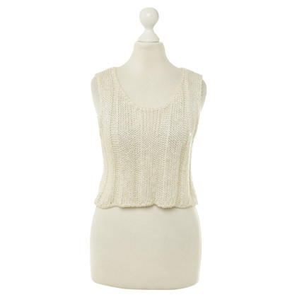 Dolce & Gabbana Knitted top in cream