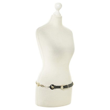 Gianni Versace Jewelry belt with logo details