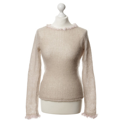 Day Birger & Mikkelsen Sweater with fur collar