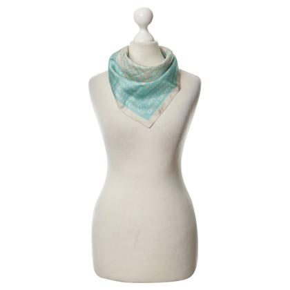DKNY Zijden sjaal met logo-rapport