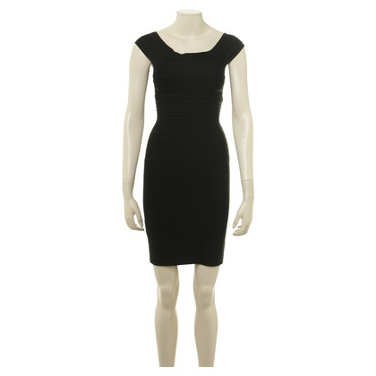 Herve Leger Bodycon dress in black
