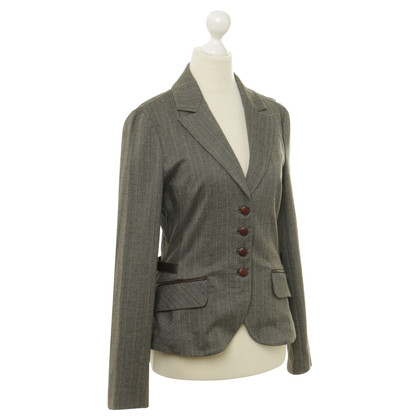 Max & Co Blazer with leather applications