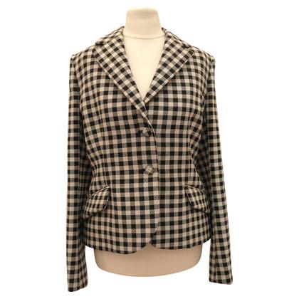Prada Checkered Blazer