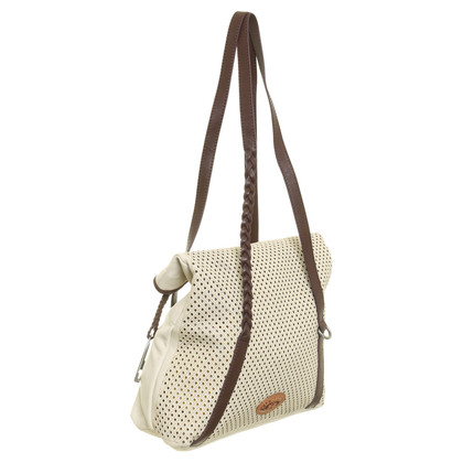 La Martina Medium Shopping Bag Mora Off White