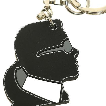 Karl Lagerfeld Silhouette keychain