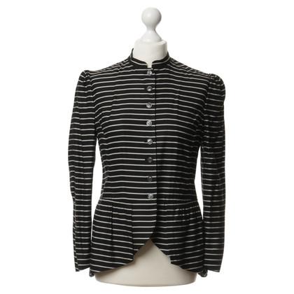 Ralph Lauren Striped jacket with peplum