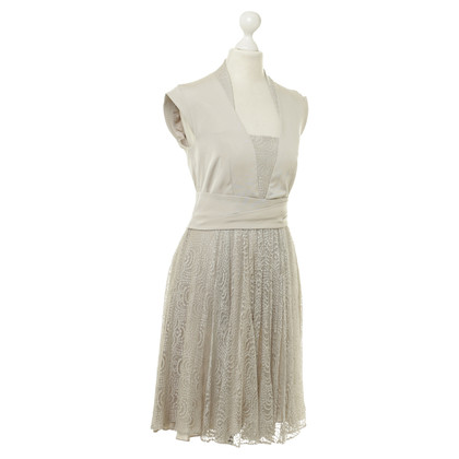 Reiss Dress with lace trim