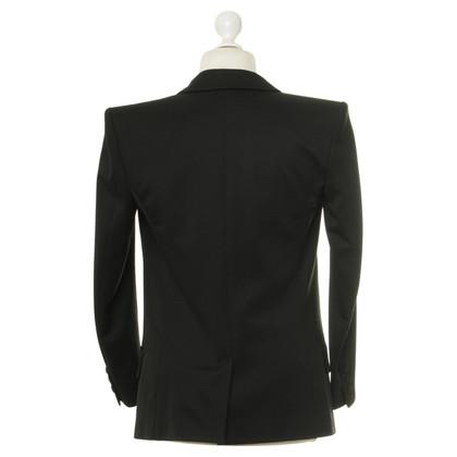 Balmain Black Overzise Blazer