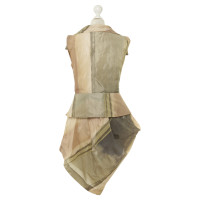 Vivienne Westwood two-piece corsets vest and skirt
