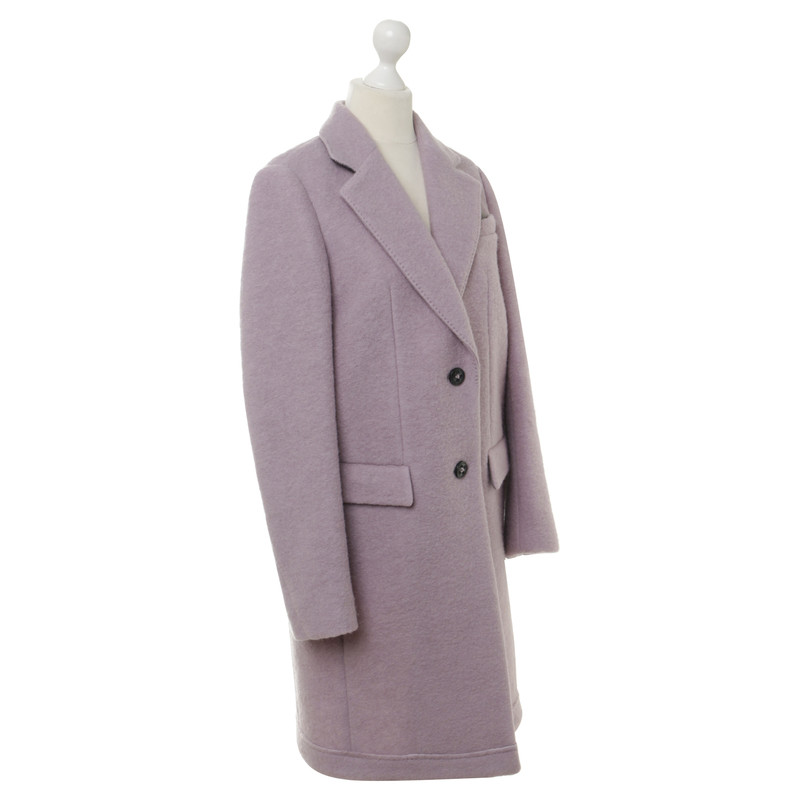 hugo boss mantel in violett second hand hugo boss mantel in violett gebraucht kaufen f r 120. Black Bedroom Furniture Sets. Home Design Ideas
