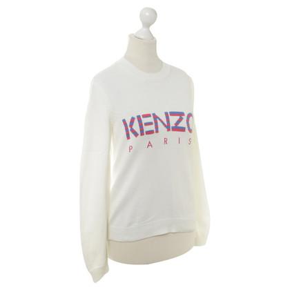 Kenzo Maglia con stampa logo