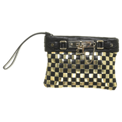 Marc by Marc Jacobs clutch in chess-look