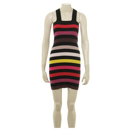 Sonia Rykiel for H&M Baumwollkleid mit Streifengebung