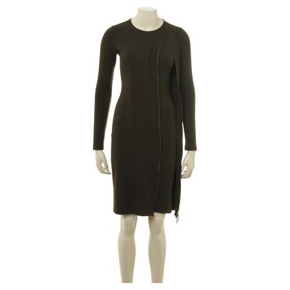 Plein Sud Jersey-Kleid mit Zipper-Details
