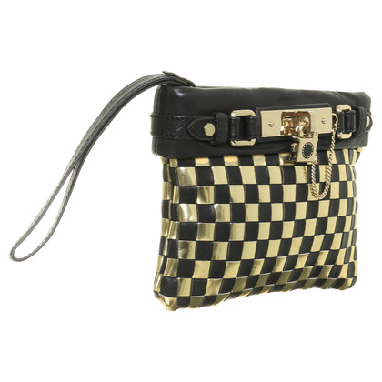 Marc by Marc Jacobs clutch in Schaken-look