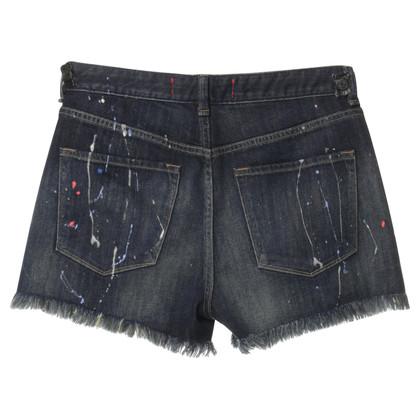 Marc Jacobs Korte broek met plonsen van kleur