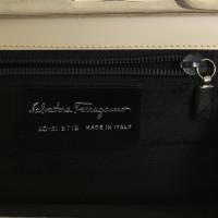 Salvatore Ferragamo clutch snake leather