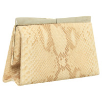Salvatore Ferragamo clutch snake leather