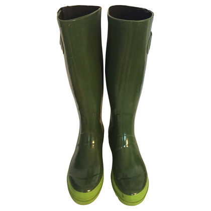 Marc Jacobs Green rubber boots