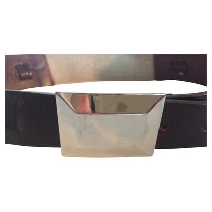Sport Max Braided leather belt
