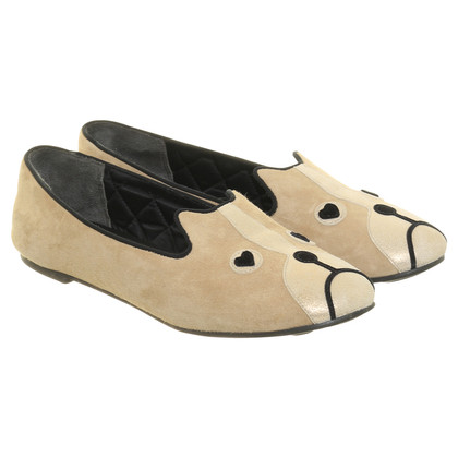 Marc by Marc Jacobs Slippers with animal face
