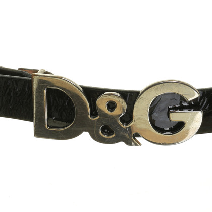 Dolce & Gabbana Belt with logo buckle