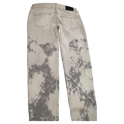 McQ Alexander McQueen Gebleekte Jeans