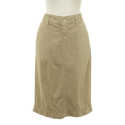 Dsquared2 Cotton skirt in beige