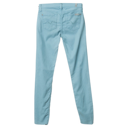 7 For All Mankind Jeans in turquoise