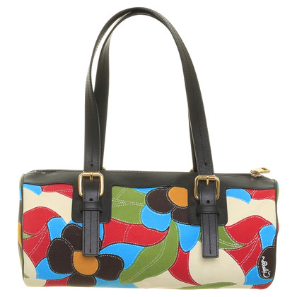 Bally Bag with flower motif