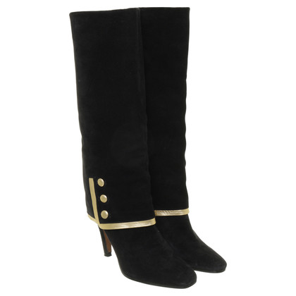 Other Designer Michel Perry - boots with cuffs detail