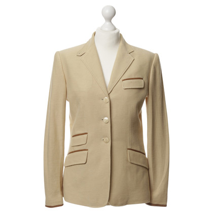 Ralph Lauren Blazer with leather piping