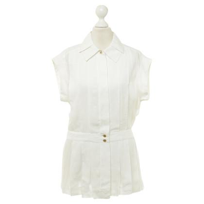 Chanel Blouse in gebroken wit