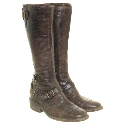Belstaff Boots in Brown