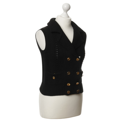 Marc by Marc Jacobs Sweater vest in black