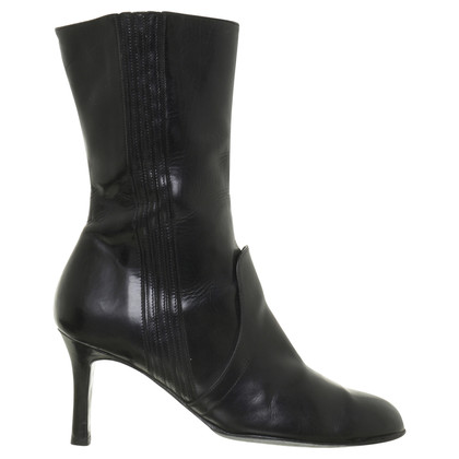 Dries van Noten Ankle boots with heels in black