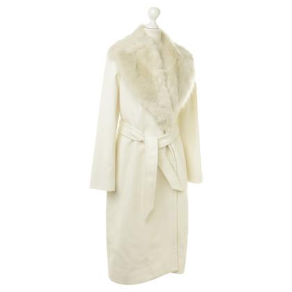 Polo Ralph Lauren Wollen jas met bont lam