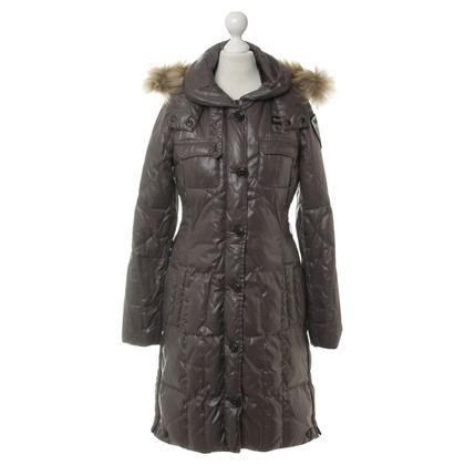 Blauer USA Down coat with fur collar