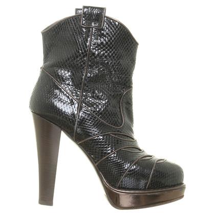 Bottega Veneta Ankle boots made of reptile leather