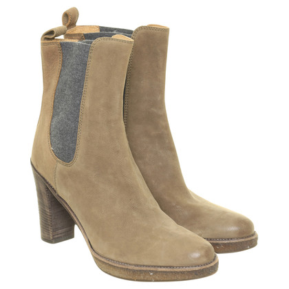Brunello Cucinelli Ankle boots in beige
