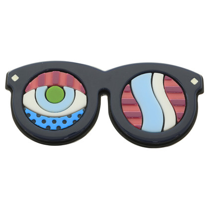 MCM Brooch in sunglasses design